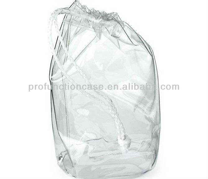 Clear Plastic Drawstring Bags Bags More