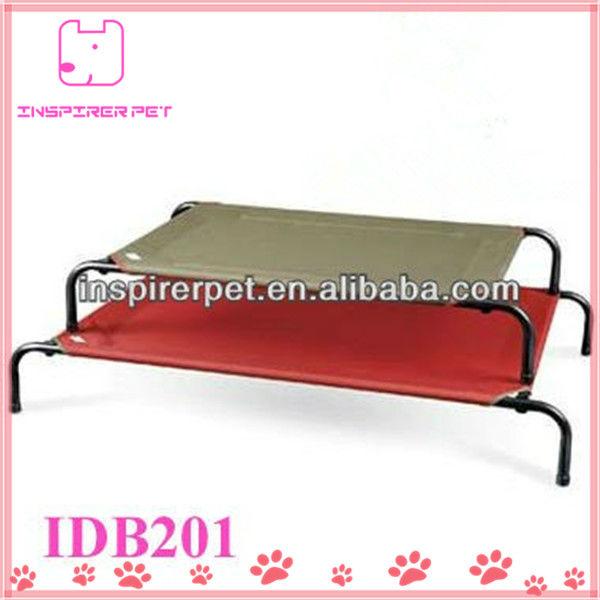 de acero para mascotas perro cama marco de la cama-Camas y ...
