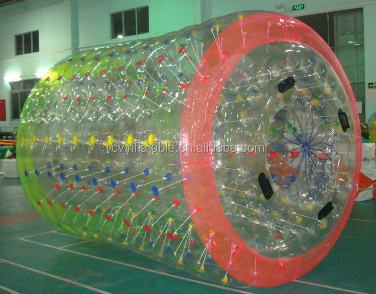 Hot sales hight quality 1.0mm PVC/TPU inflatable ball suit,Water Walking Inflatable Ball Suit ,water roller