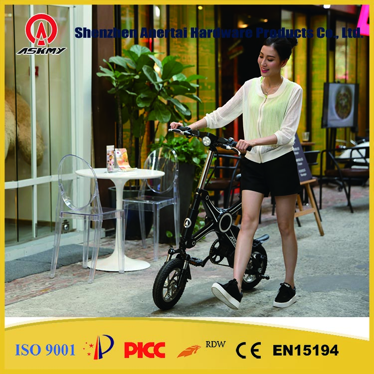 CE Small Folding Electric Bicycle Panasonic Foldable elcctric bike folding electric bike for Students