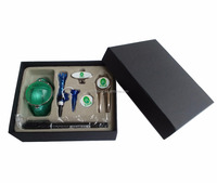 Golf gift set with various golf accessories inside