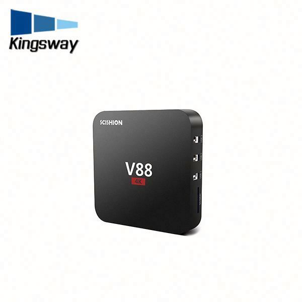 Newest 4K full HD android 5.1 tv box V88 enjoy the full range of information on television SD/HD max TV BOX