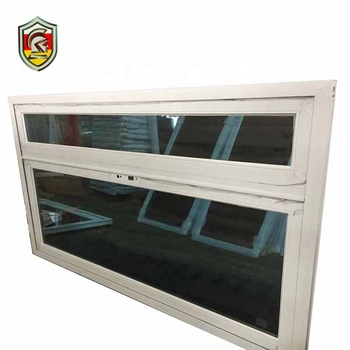 aluminum casement opening outside window within magnet blinds