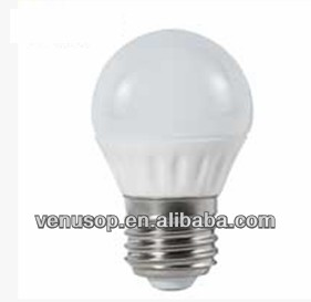 G45 E26 Led Bulb Voltage LED Ceramic Golf Ball Lamp with Good Sealing,No Fog