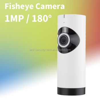 Vitevision 720P fisheye cctv camera HD 180Degree P2P WiFi IP Camera Security Network Cam Night Vision