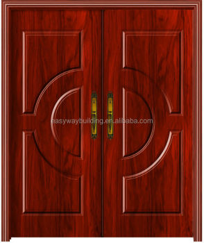 Red Sanders Double Melamine Veneer Wooden Door  sc 1 st  Alibaba & Red Sanders Double Melamine Veneer Wooden Door - Buy Melamine Door ...