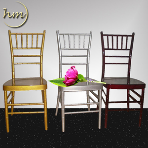 Hot Sale Aluminum Hotel Wedding Chiavari Chair Used