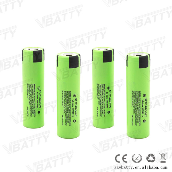 E-bick 18650 battery NCR18650PF 3.7V 2900mAh original Japan 18650 battery cell