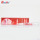 Unique design plastic empty teeth whitening pen white tooth 2ml ready in retail box