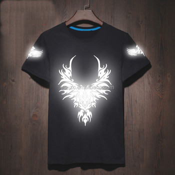 2017 Glow In The Dark T Shirts New Model T Shirts Led T Shirt