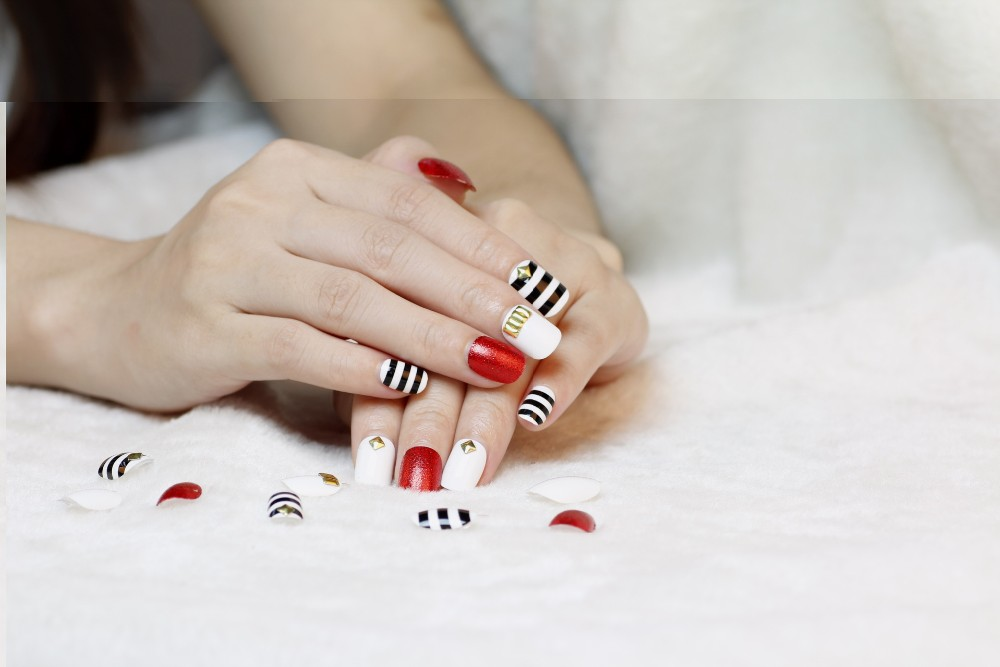 Full Cover 3d Fake Nail Tips Cartoon Picture Stick On Nails Designs ...