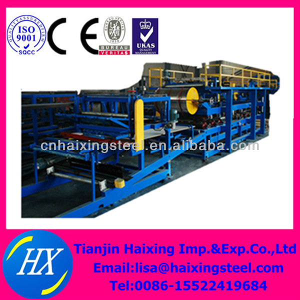 radiator panel production line