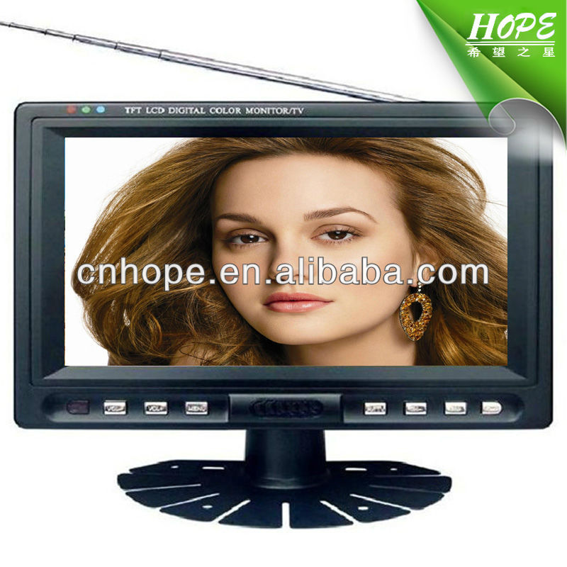 7 inch tft lcd color monitor 7 inch mini lcd tv