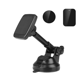 2019 hot Sale Mobile Phone Magnetic Dashboard Holder 360 Rotation Windshield Phone Car Holder with Telescopic Long Arm