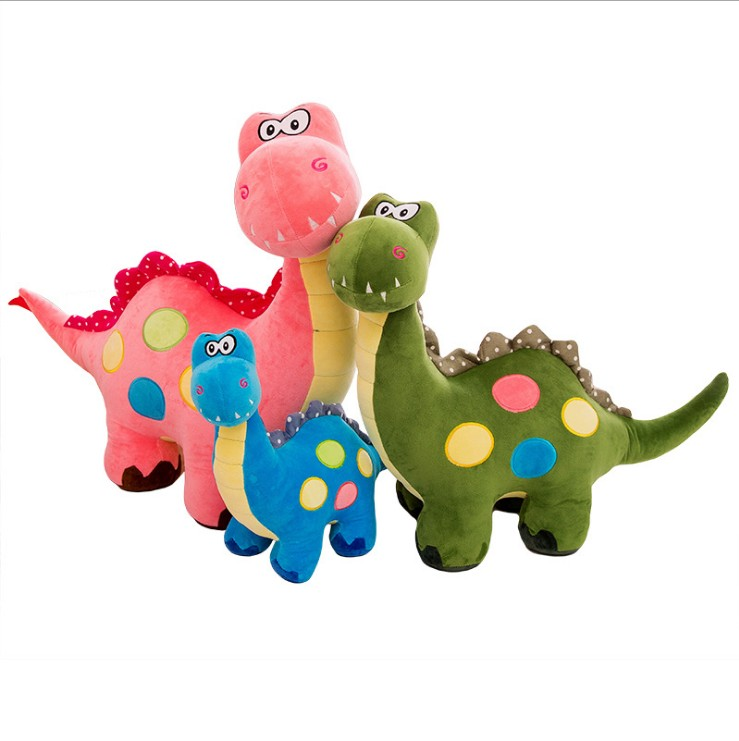 10 Inch Speckle Plush Dinosaur Stuffed Animal, Plush Toy Gifts for Kids