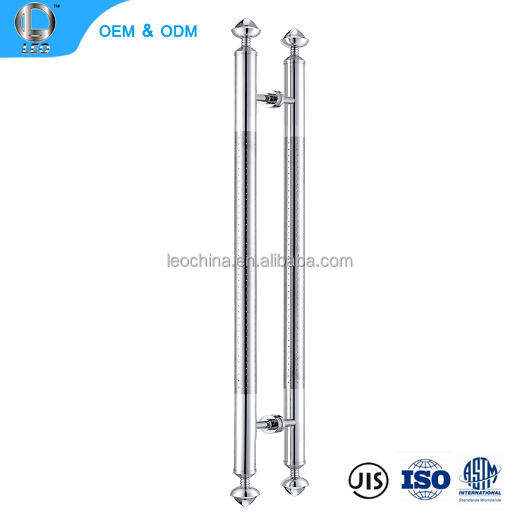 Shower Glass Door Hardware Products Decorative Stainless Steel Handles
