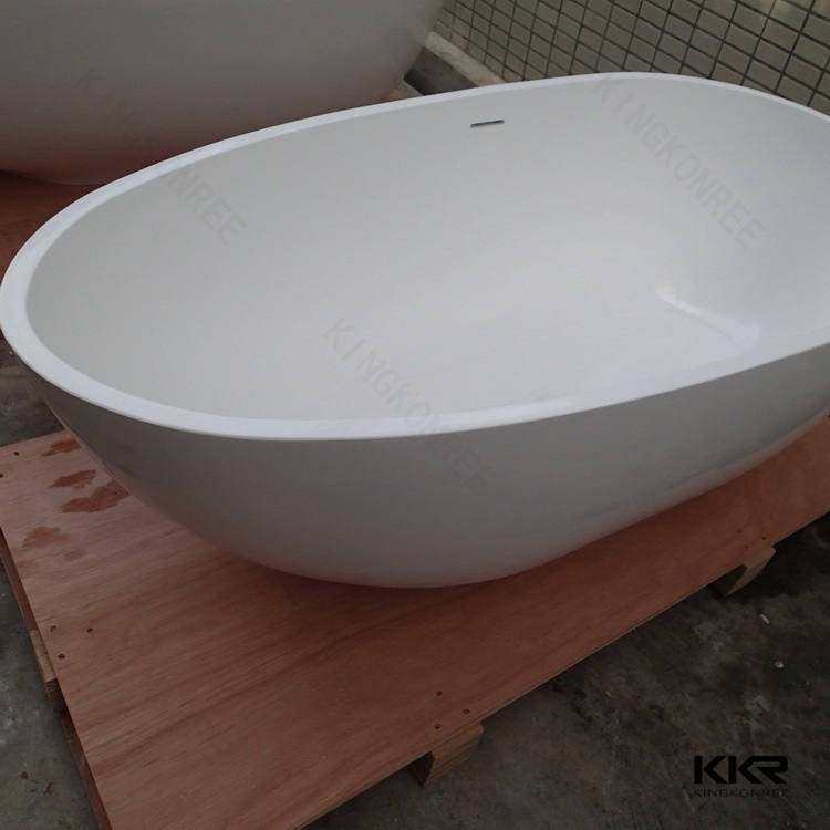 2 Person Standard Size Soaking Freestanding Bath Tub