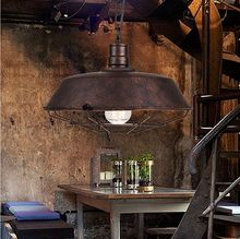 Low cost top sell vintage cafe pendant light factory