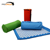 Pain Relief Relieves Stress Yoga Bed Mattress Massage Acupressure Mat and Pillow Set