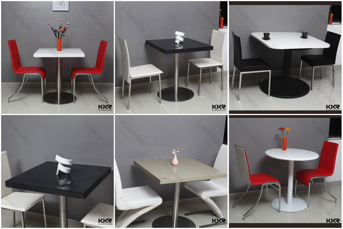 Modern cafe chairs and tables - Acrylic Solid Surface Table Chair Cafe Table Chair Set Used Restaurant Table And Chair