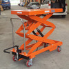 Manual Hydraulic Portable Lifter, Powder-Coated Finish, Customized Available