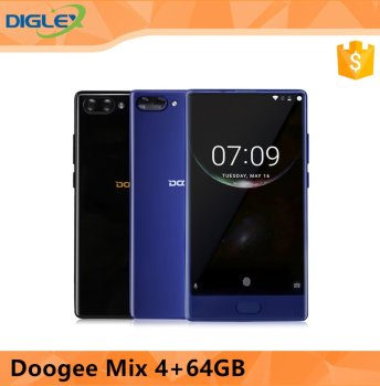 "New Arrival Doogee Mix 5.5"" Helio P25 2.5GHz 16.0MP+8.0MP Dual SIM Card Dual Standby 6GB+64GB"