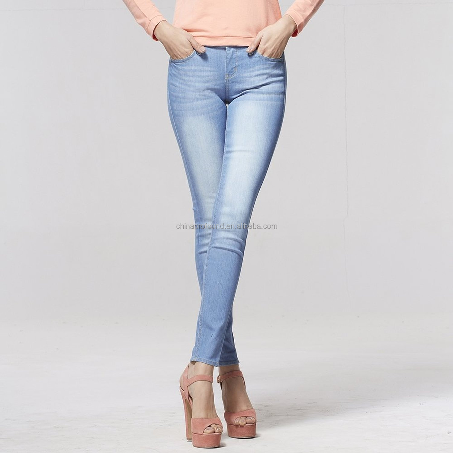 One of the most common complaints among pear-shaped women: If the jeans are roomy enough for their hips and butt, the waist is too big. But a contoured cut that doesn't gape at the waist can make.