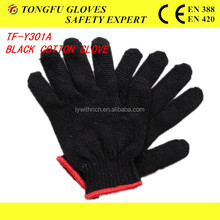 made to order slip resistance PVC dotted cotton gloves/pvc dotted cotton hand protective For Construtions Bulk From China en388