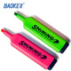alcohol based highlighter marker pen ink painting green red colorful highlighter pen