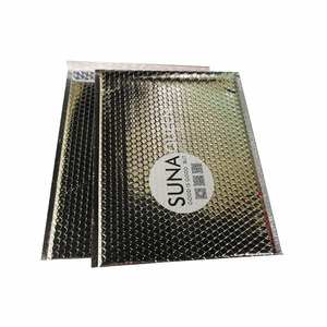 Printed Holographic Foil Metallic Padded Bubble Mailer Bags