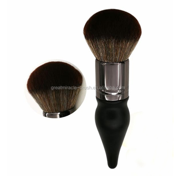 Sinple Quality Chubby Pier Blush Foundation Makeup Brushes Professional Cosmetic Make-up Portable