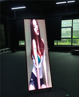ultra thin led display indoor all in one led screen for luxury shopping store sdvertising