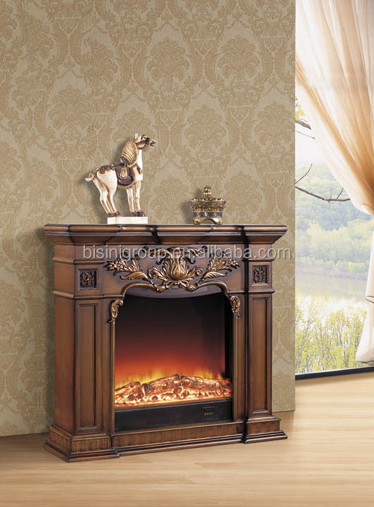 Bisini antique style fake fire decorative electric fireplace bf09 42081 buy - Deco fausse cheminee ...