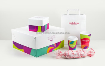 Colorful Brand Cafe Cake Disposable Takeaway Food Container / Eco-friendly  Wholesale Recycled Take Away Cheap Paper Cake Box - Buy Paper Food Take Out
