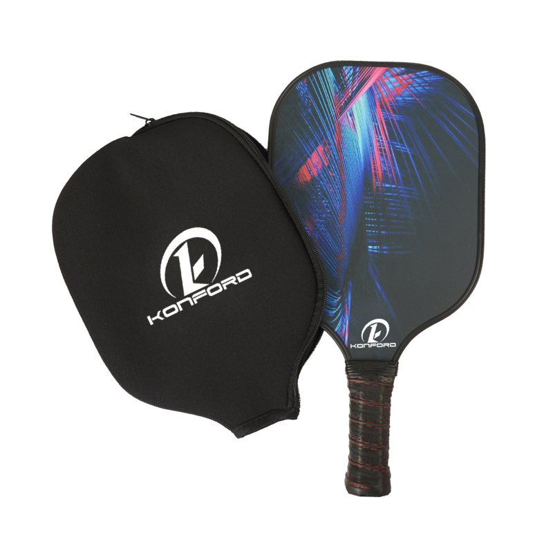 Venda quente De Fibra De Carbono pickle paddle set atacado conjuntos de raquete de pickleball made in China