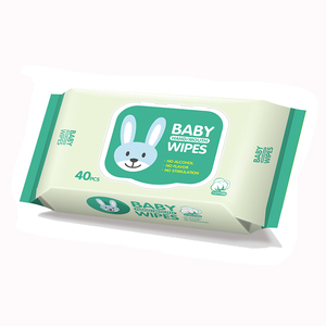 OEM Babies Age Group No Alcohol Anti Bacterial Wet Tissues