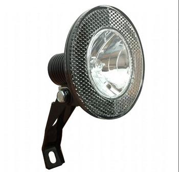 Outdoor Led 6v 2 4w Dynamo Front Light Retro Bicycle Light Head