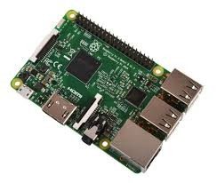 raspberry pi 3 model B with 1G RAM integrated circuits wifi board