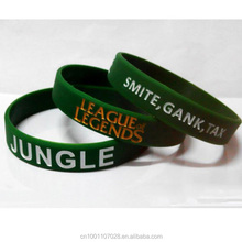 League Of Legends Siliconen Polsbandjes Rubber Armbanden LOL <span class=keywords><strong>Thema</strong></span> voor Game promotie gift festival XMAS