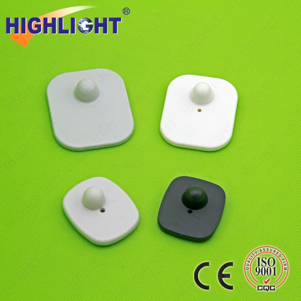 Highlight H002 EAS RF 8.2MHz shoe and clothing security clothing tags supermarket system rf hard tag