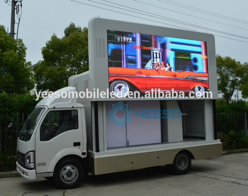 Yeeso High Definition P6mm Mobile Led Advertising Truck,Mobile ...
