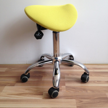 New Design Ergonomic Saddle Seat Chairs Stools Posture Office Chair Without Backrest
