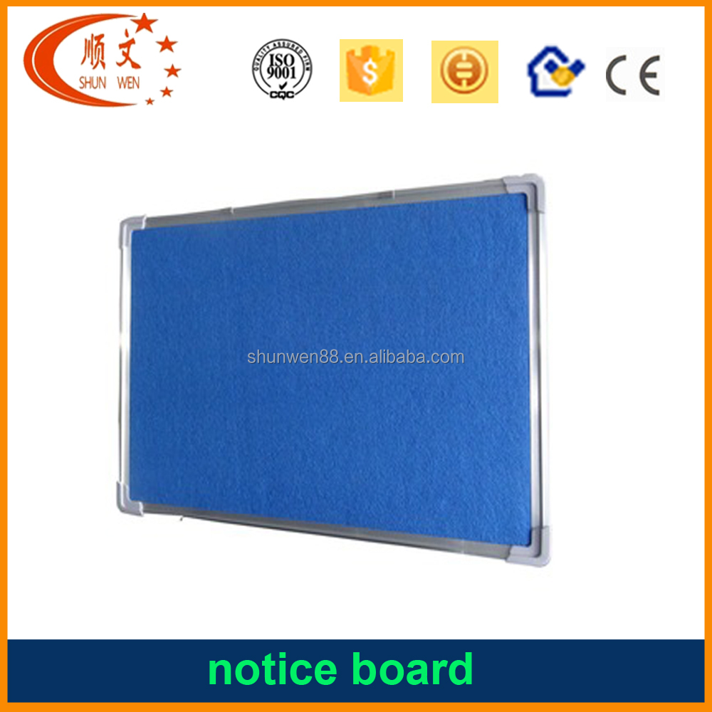 hot selling mdf notice board push pin board for school and office classroom notice board