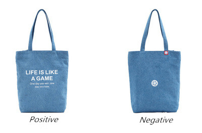 Customizable Size Eco-friendly Canvas Bag Cotton Bag Printable