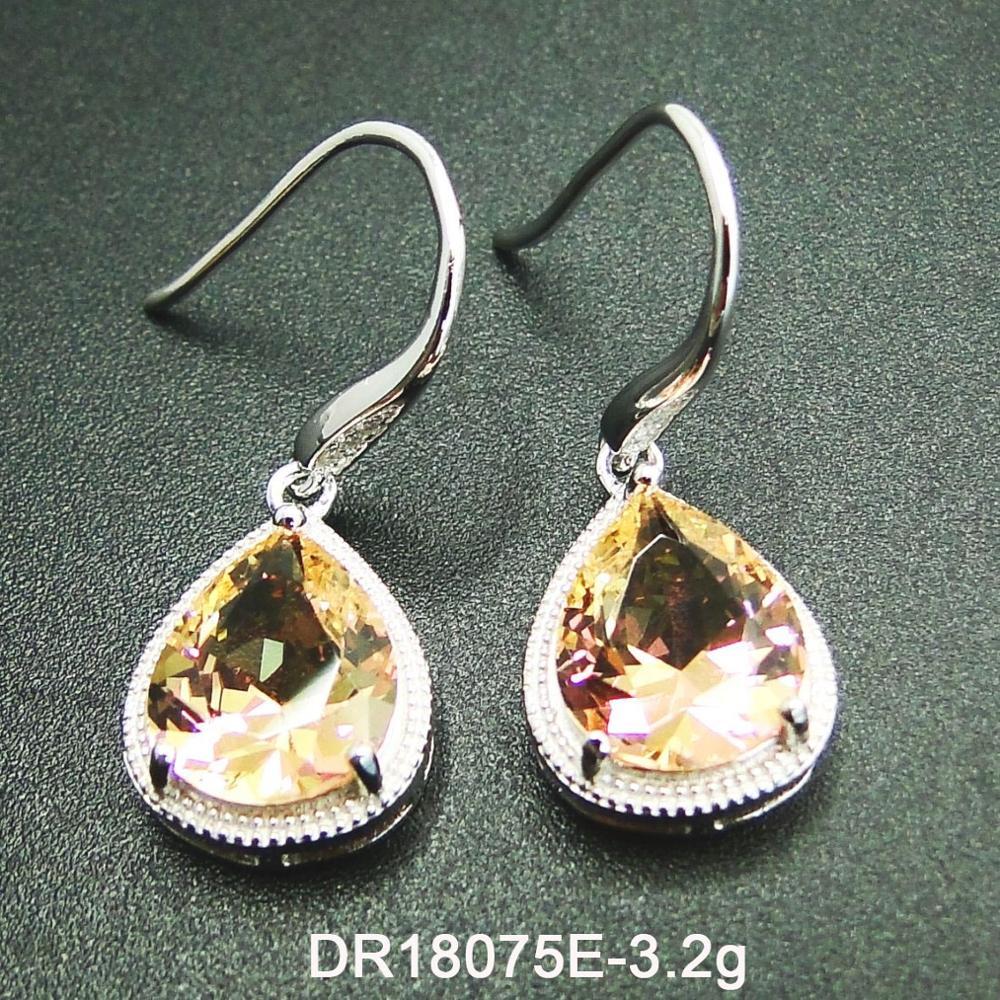 d0ca8ebde 925 Sterling Silver Color Change Stone Jewelry Alexandrite Teardrop drop  Earrings, View Teardrop Earrings, OEM Product Details from Guangzhou Dear  Jewelry ...
