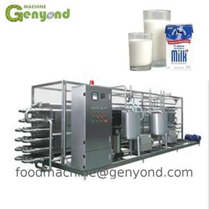 Top selling products 2017 fresh milk/pasteurized milk processing line machine/milk machine plant dairy