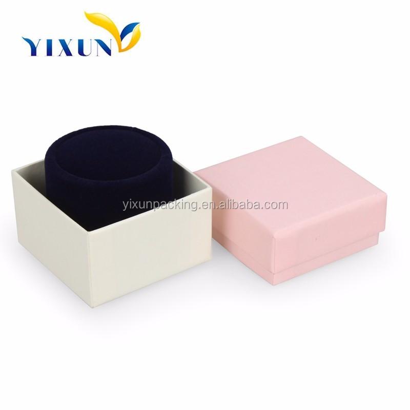 wholesale sale paper ring box luxury custom jewelry