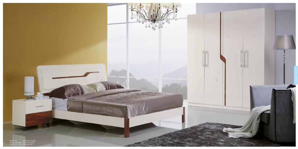Hand Painted Morden White Corner Dresser Cabinet Design Mdf Bed ...
