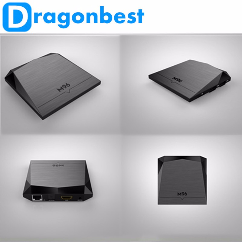 play store app free download cool shap Quad Core Android 6.0 TV Box M96 S905X 2G 8G set up box OTT box