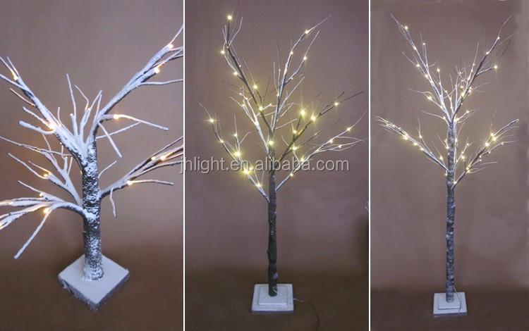 Beautiful Christmas/wedding Snow Cover Pre-lit Decorative
